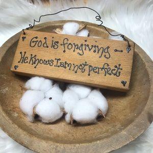 💥 Handmade wooden sign